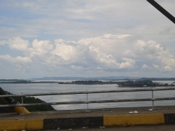 First Barelang Bridge on the right side